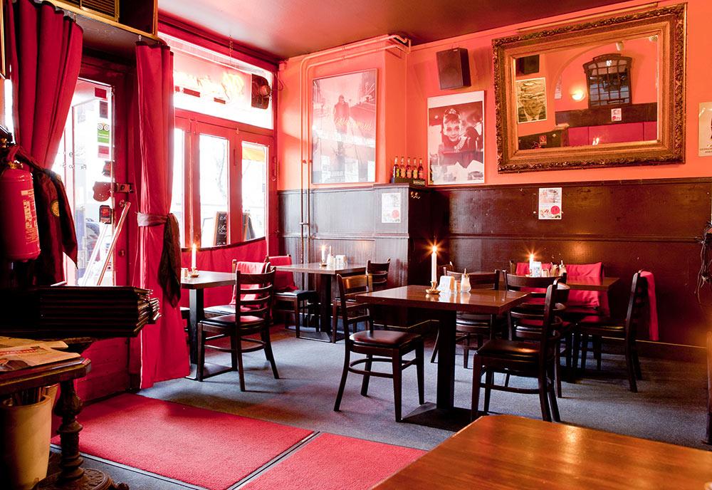 Cafe Bleibtreu à Berlin.